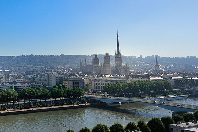 Rouen French in Normandy Studenten im Unterricht